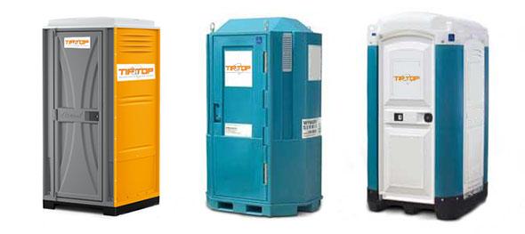 Tip Top, kabine pokretnih WCa